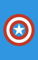 Captain America Minimalist Weapon Design