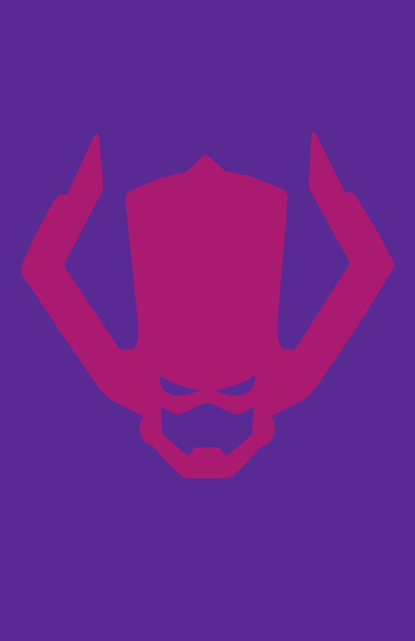 Galactus Minimalist Helmet Design by MinimalistHeroes