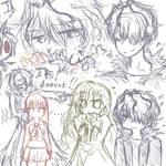 Ib sketches by Bluecake80
