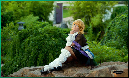 Parsee on rock by nuramoon