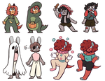 OPEN Bansik Halloween Adopts 5