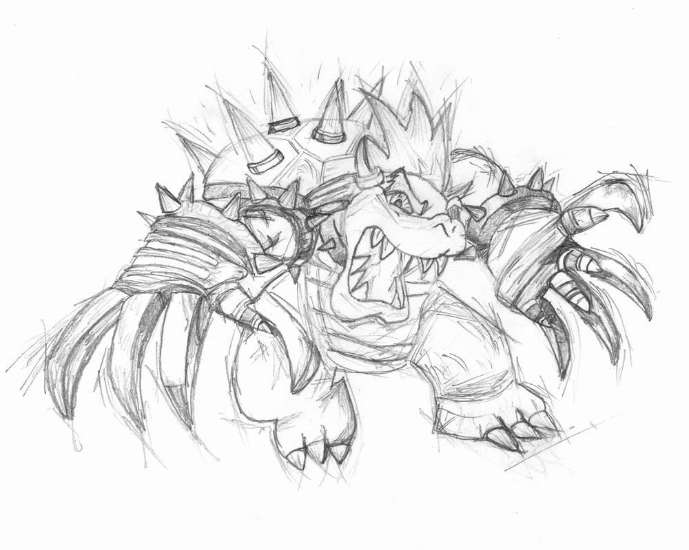 giga bowser by hetoan2 on deviantart