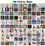 My Top 100 Favorite Villains