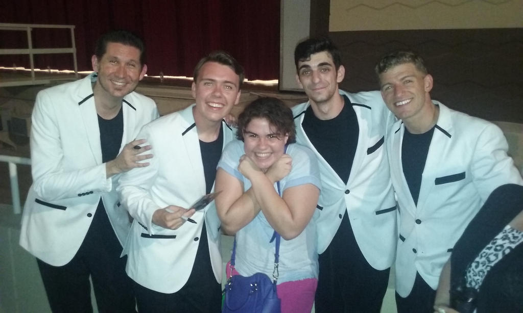 Me and the Jersey Boys! by Toongirl18