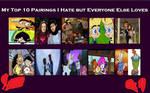 10 Pairings I Hate But everyone Else Loves