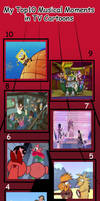 My Top 10 Favorite Musical Moments in TV Cartoons