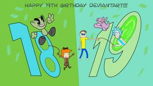 A DeviantART 19th Birthday