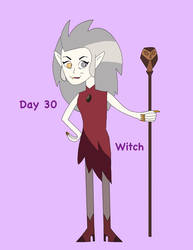 Fan-Tober 2020 Day 30: Witch