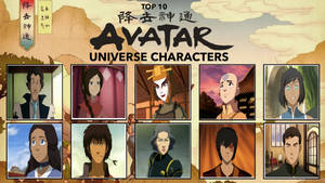 My Top 10 Favorite Avatar Universe characters