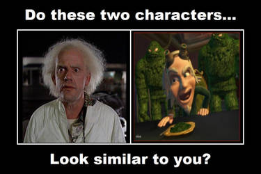 Do Doc Brown and Dr. Moist Look Similar to You?