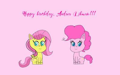 Happy birthday, Andrea Libman!!!