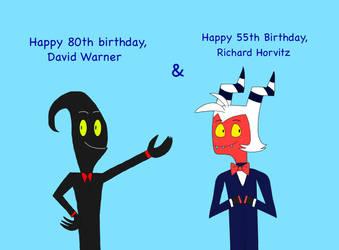 Happy Birthday, David and Richard!