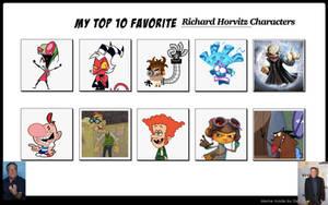 My Top 10 Favorite Richard Horvitz Characters