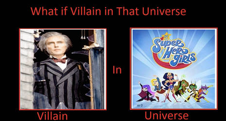 What if Max Shreck Appears in DC Superhero Girls?