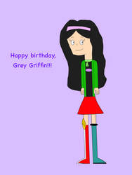 Grey's Cool Outfits on her Birthday