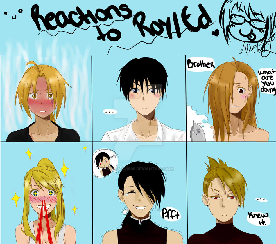 Anime Characters React Fanfiction : Fma reactions to roy ed by smeesha on deviantart