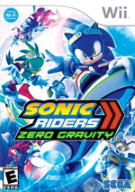 Sonic Riders Zero Gravity box art