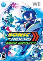 Sonic Riders Zero Gravity box art