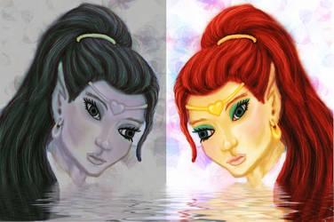 The Twins by Darkangael