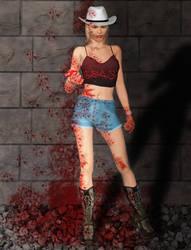 Sheila The allyway by Darkangael