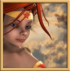 Wonder Woman Profile by Darkangael