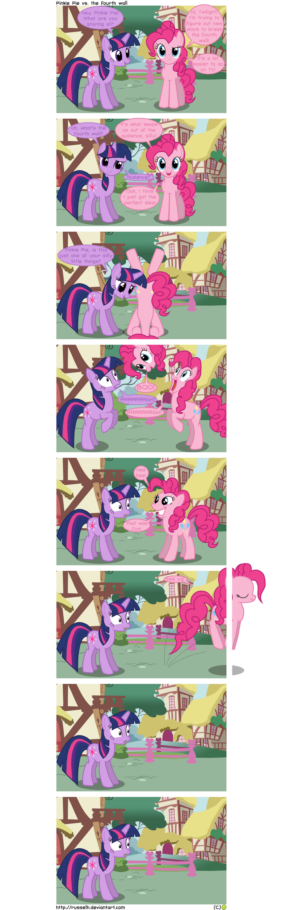 Pinkie Pie vs. the fourth wall