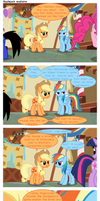 Applejack explains