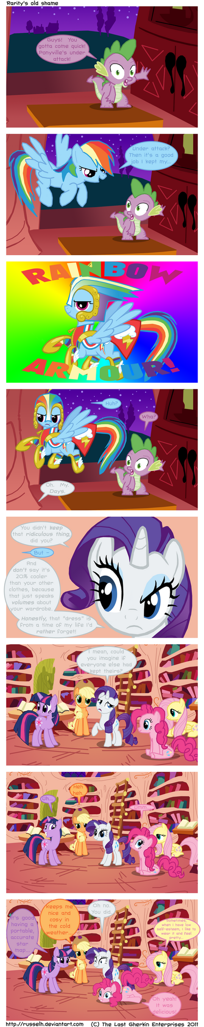 Rarity's old shame by TheLastGherkin