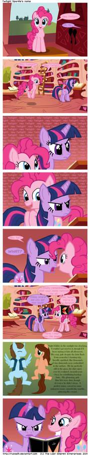 Twilight Sparkle's name
