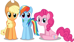 Gawping ponies