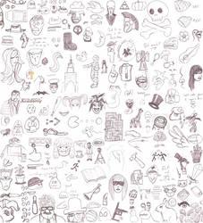 Sketches, weeks 1-3 by TheLastGherkin