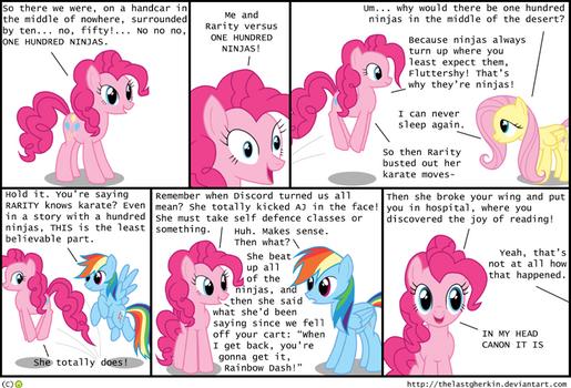 Tale of the Hundred Pony Ninja