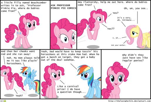 Ask Professor Pinkie Pie