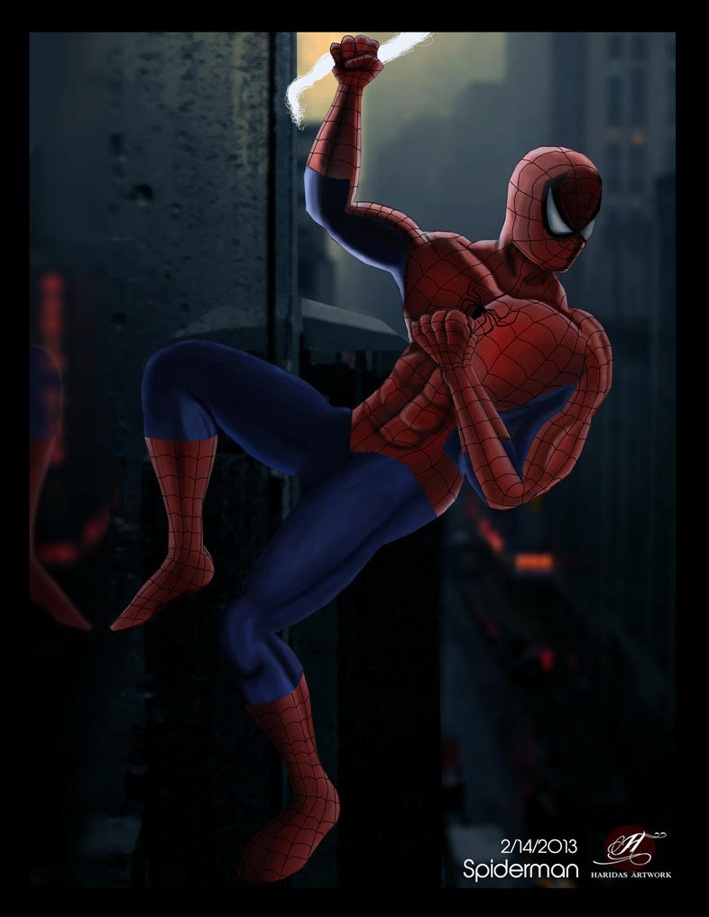 Spiderman by Viera-DA