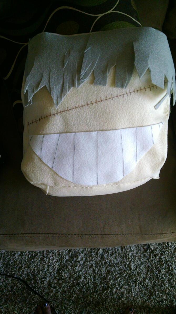 Undertaker Pillow by LilyHellsing