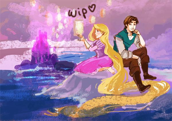 Wip raiponce by sanoe