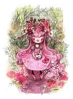 Rose Pomme by sanoe