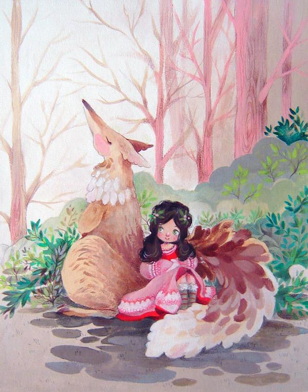 Pinkfox by sanoe