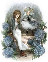 Louise and Phekda by sanoe
