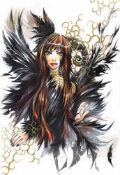 crow by sanoe