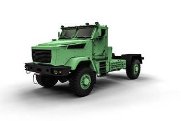 concept of military trucks Kraz (4x4) by DenSQ