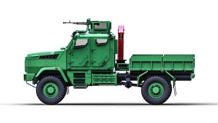 Military truck (4x4) by DenSQ