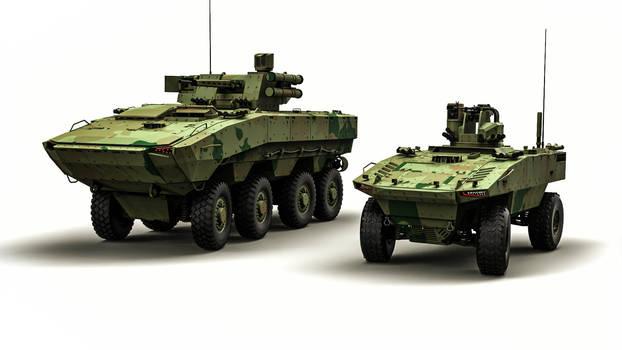 advanced combat platforms by DenSQ