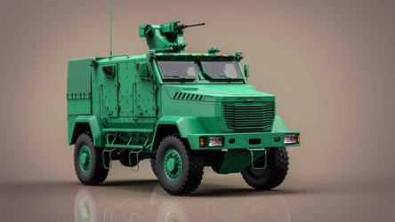 high security armored vehicle by DenSQ