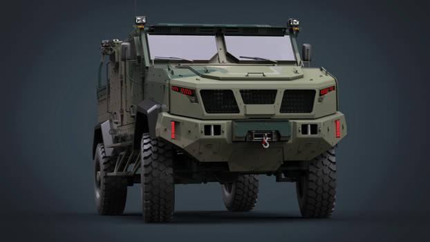 Concept MRAP mk.II by DenSQ