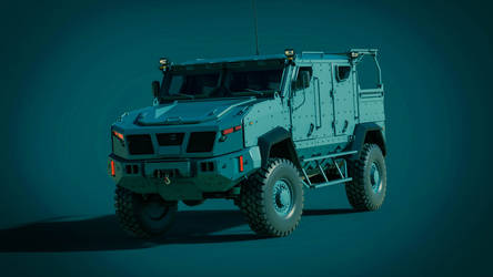 Concept MRAP mk.III by DenSQ
