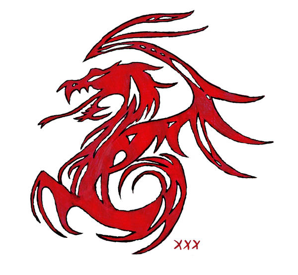 red chinese dragon wallpaper - photo #20