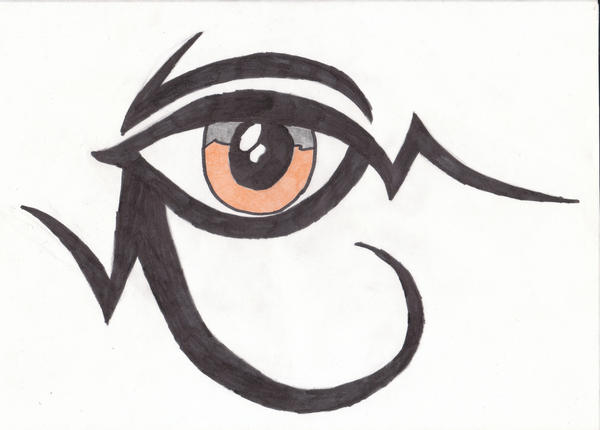Tribal Egyptian Eye By Just another emo kid On DeviantArt