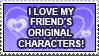 I Love My Friend's OCs by ElStamporoonios