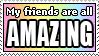 AMAZING FRIENDS by ElStamporoonios